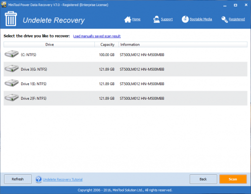 MiniTool Power Data Recovery 7 Crack + Patch Full Download
