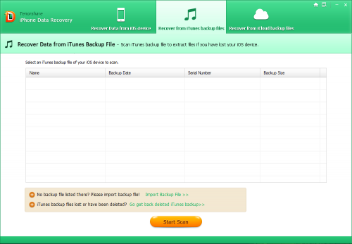 Tenorshare iPhone Data Recovery 6.7 Patch Crack Full Download