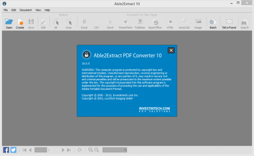Able2Extract PDF Converter 10 License Key + Crack Download