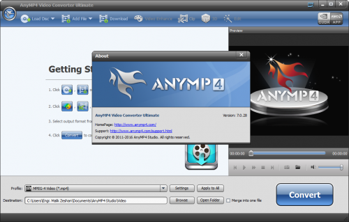 AnyMP4 Video Converter Ultimate 7.0.28 Final Crack Download