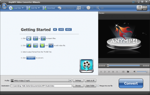 AnyMP4 Video Converter Ultimate 7.0.28 Patch Crack Download