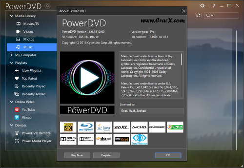 CyberLink PowerDVD Pro 16 Patch Activator Full Download
