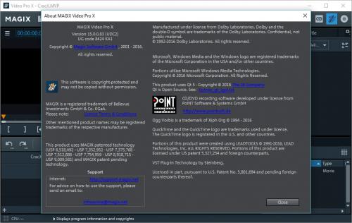 MAGIX Video Pro X8 Activation Code Crack Full Download
