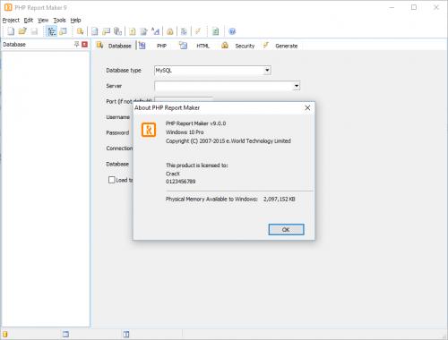PHP Report Maker 9 Keygen & Crack Full Free Download