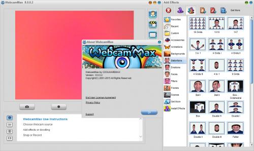 WebcamMax 8.0.0.2 Full Crack & Serial Key Free Download