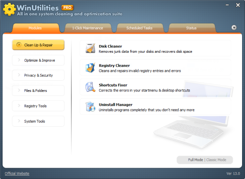 WinUtilities Pro 13.0 Patch + Serial Number Free Download