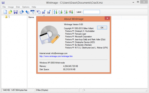 WinImage Professional 9 License Key & Crack Patch Download