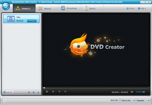Wondershare DVD Creator 4.0.0 Keygen + Patch Download