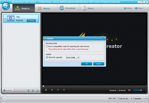 Wondershare DVD Creator 4.0.0 Serial Key Full Free Download