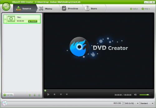iSkysoft DVD Creator 4 Patch + Serial Key Free Download