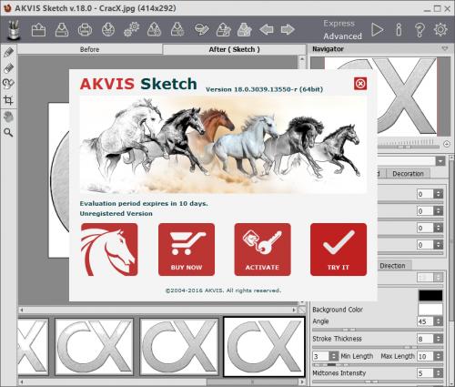 AKVIS Sketch 18 Serial Key + Crack Keygen Free Download