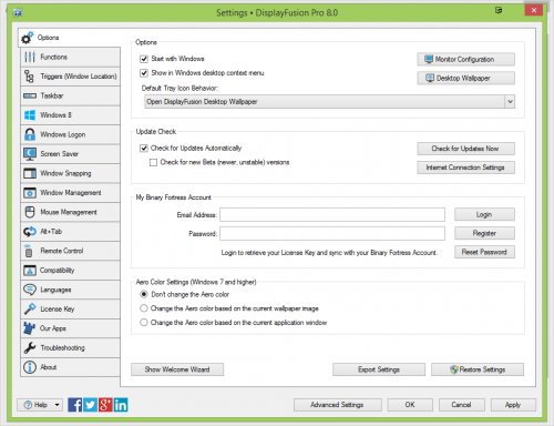 DisplayFusion Pro 8.0 Serial Number + Patch Download