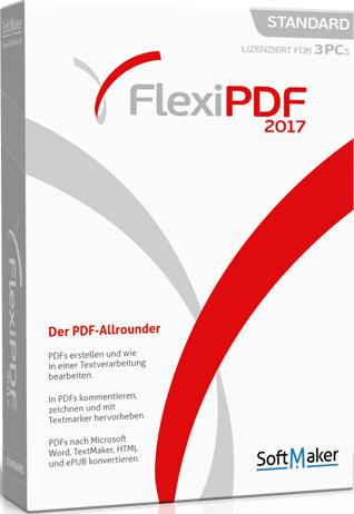 SoftMaker FlexiPDF 2017 Professional 1.00 Crack Key Download