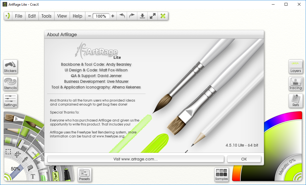 Ambient Design ArtRage Lite 4.5.10 Serial Number Download
