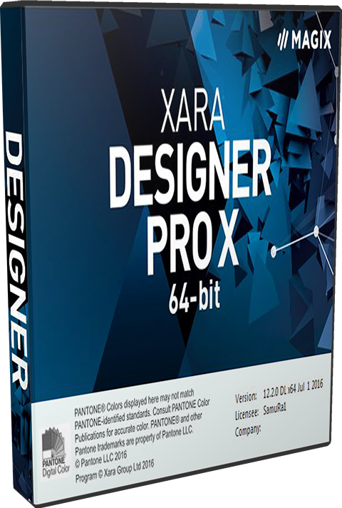 Xara Designer Pro X365 12.4 Crack & Serial Key Download