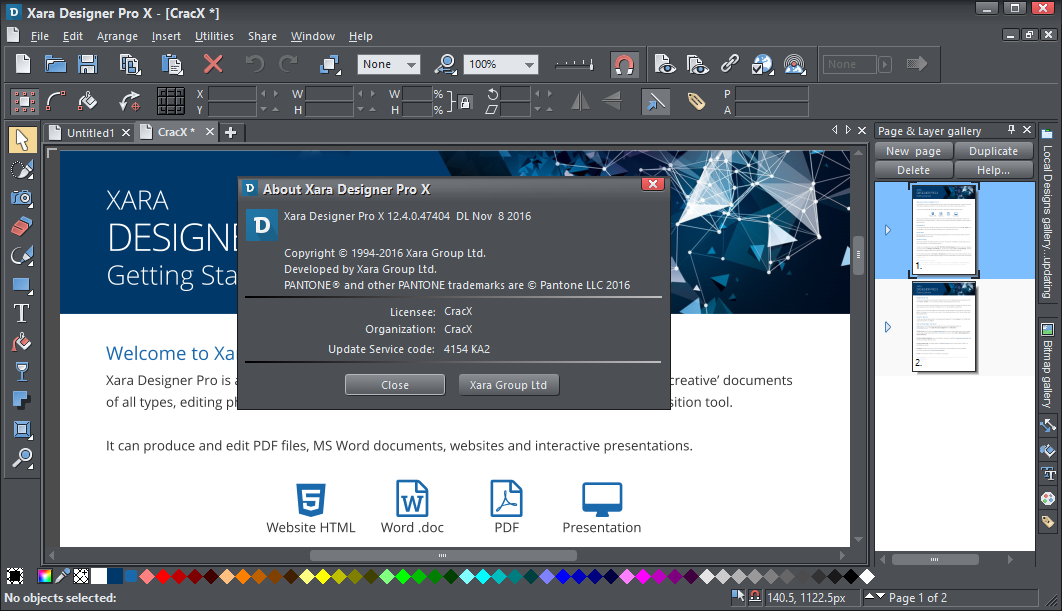 Xara Designer Pro X365 12.4 Full Cracked Free Download