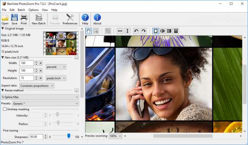 BenVista PhotoZoom Pro 7.0.2 License key Free Download