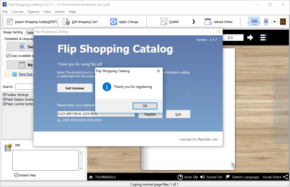 Flip Shopping Catalog 2.4.7.2 Patch + Crack Full Download