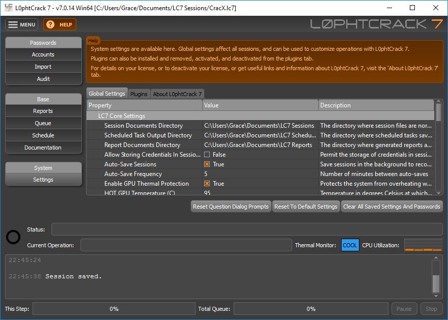 L0phtCrack Password Auditor 7.0.14 License Key Full Download