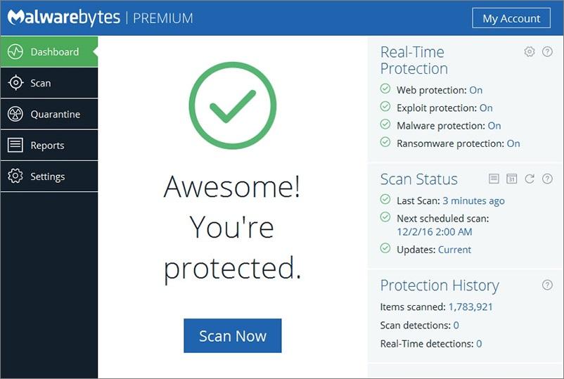 Malwarebytes Anti-Malware 3.0.6.1458 Premium Patch Download