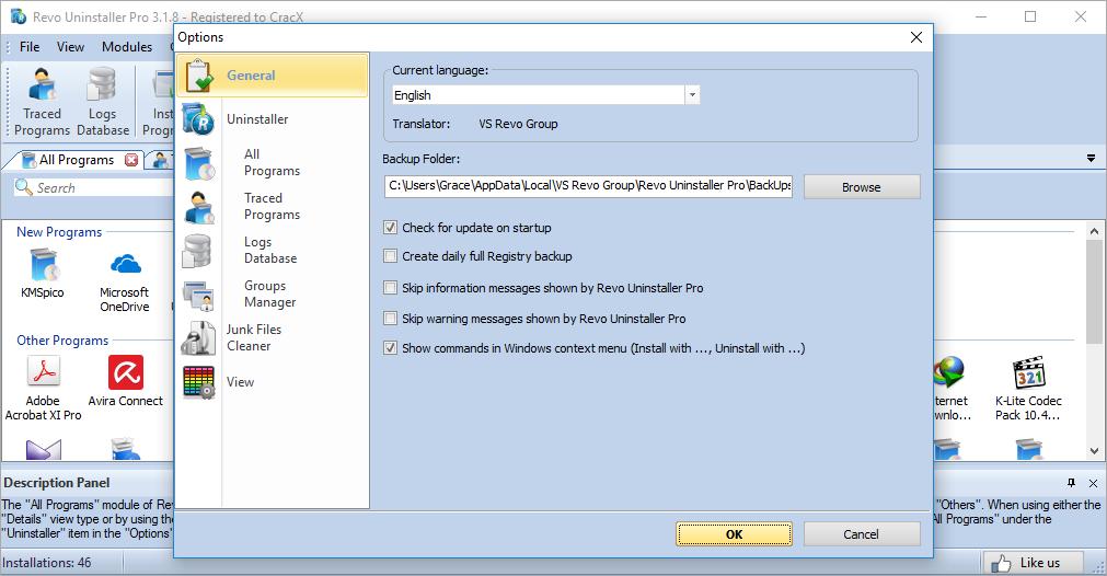 Revo Uninstaller Pro 3.1.8 Patch & keygen Download