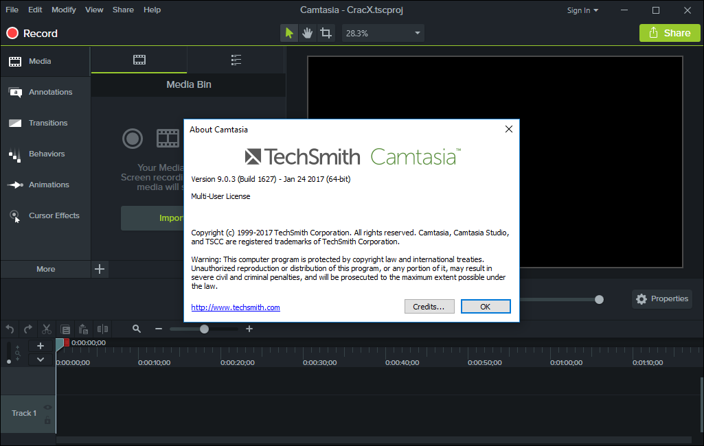 TechSmith Camtasia Studio 9.0.3 Keygen + Crack Download