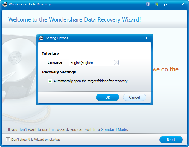 Wondershare Data Recovery 5.0.7.8 License Key Download