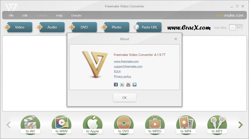 Freemake Video Converter Gold 4.1.9 Patch & Keygen Download
