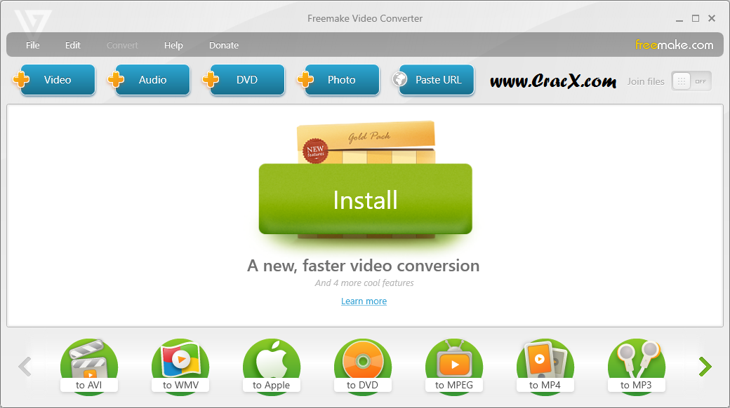 Freemake Video Converter Gold 4.1.9 Serial Key Free Download