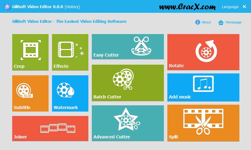 GiliSoft Video Editor 8.0.0 Crack + License Key Download