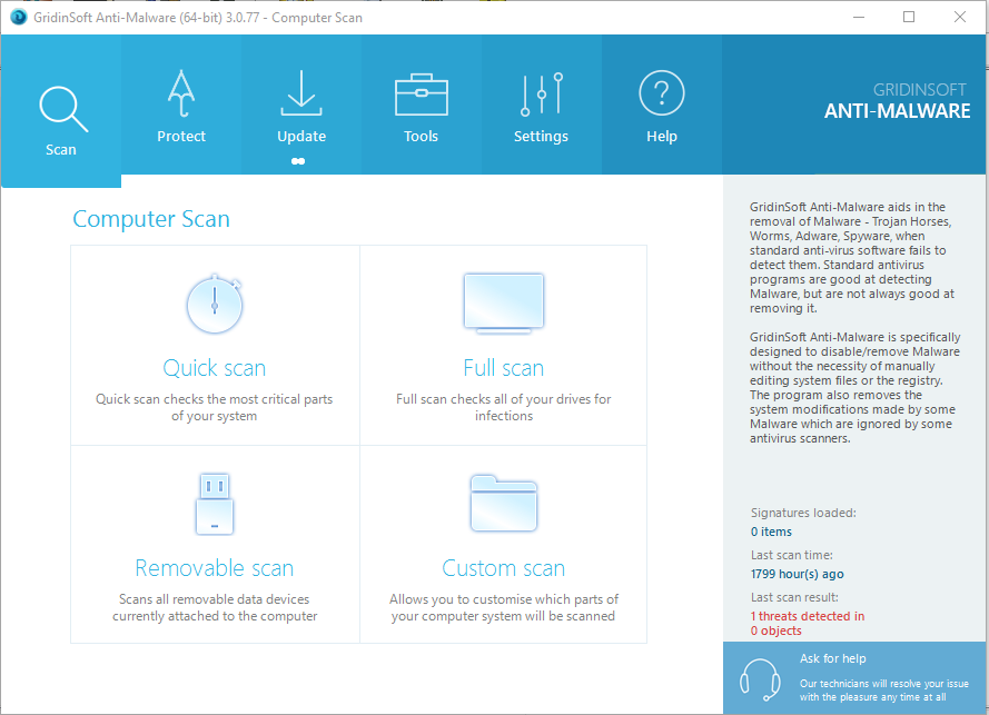 GridinSoft Anti-Malware 3.0.77 License key & Keygen Free Download