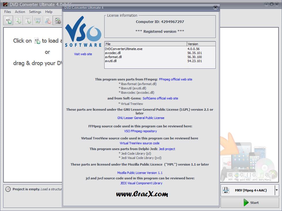 VSO Blu-ray DVD Converter Ultimate 4.0.0.56 + Key Download