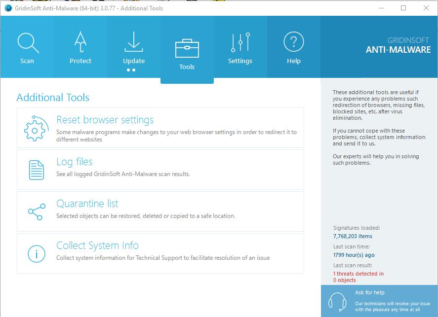 GridinSoft Anti-Malware 3.0.77 Serial Key & Crack Free Download