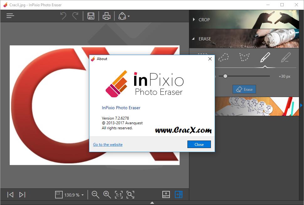 Avanquest InPixio Photo eRaser 7.2.6278 Crack & Patch Download