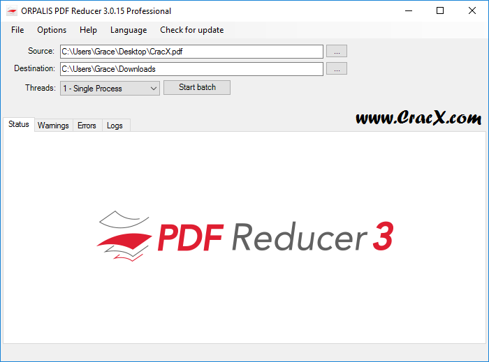 ORPALIS PDF Reducer Pro 3.0.15 License Key + Patch Download