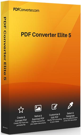 PDF Converter Elite 5.0.5.0 License Key & Crack Download