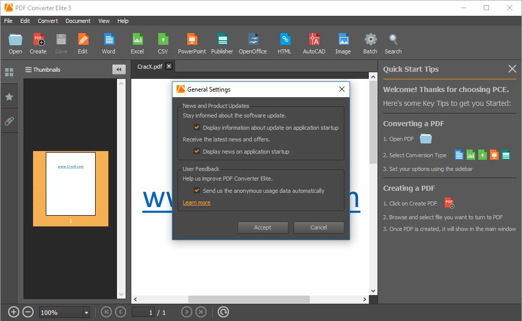 PDF Converter Elite 5.0.5.0 Patch & Keygen Full Download