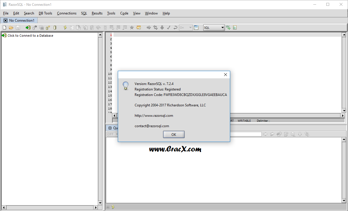 RazorSQL 7.2.4 Serial Key & Crack Full Free Download