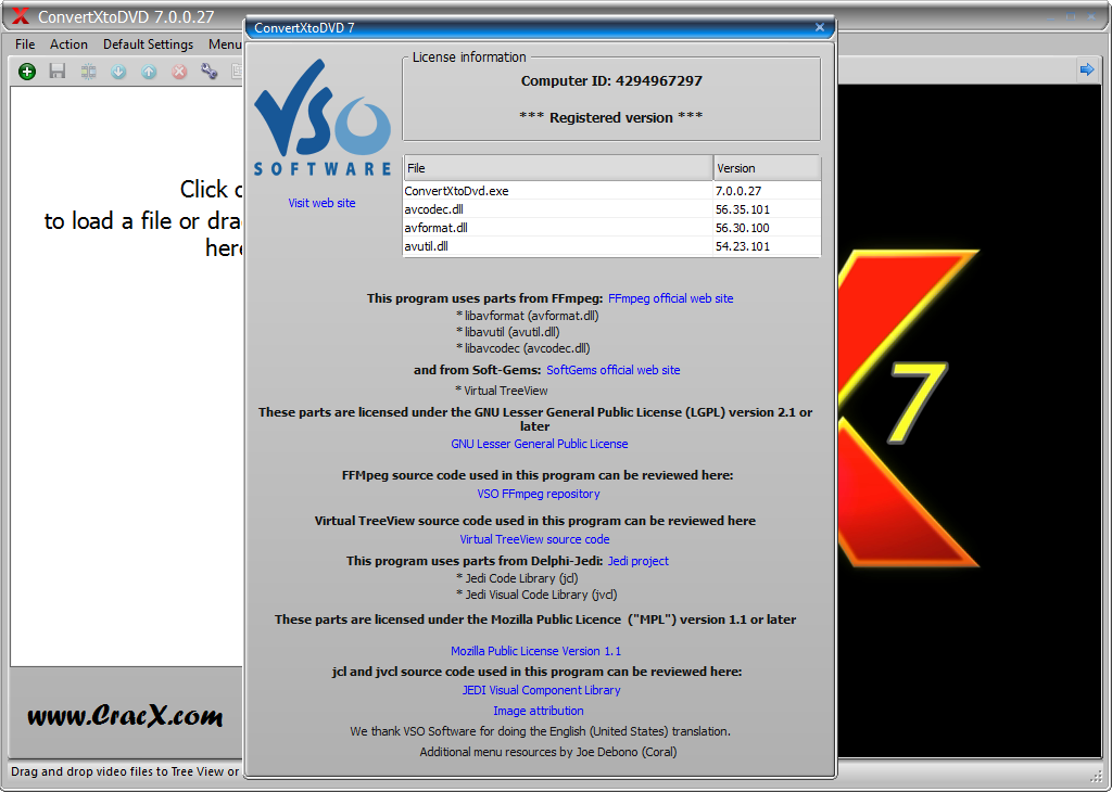 VSO ConvertXtoDVD 7.0.0.27 Keygen & Activator Download