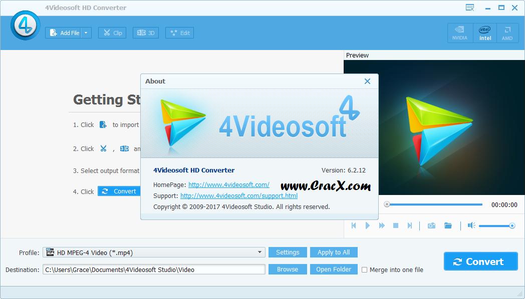 4Videosoft HD Converter 6.2.12 License Key Full Download