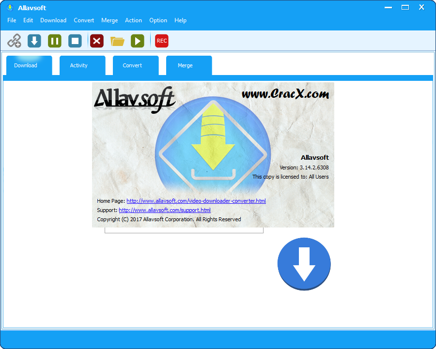 Allavsoft Video Downloader Converter 3.14.2.6308 + Key Download