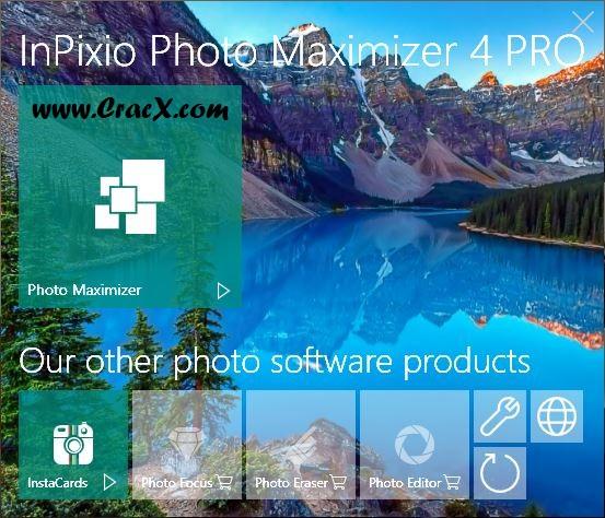 InPixio Photo Maximizer Pro 4.0.6288 Serial Key Free Download