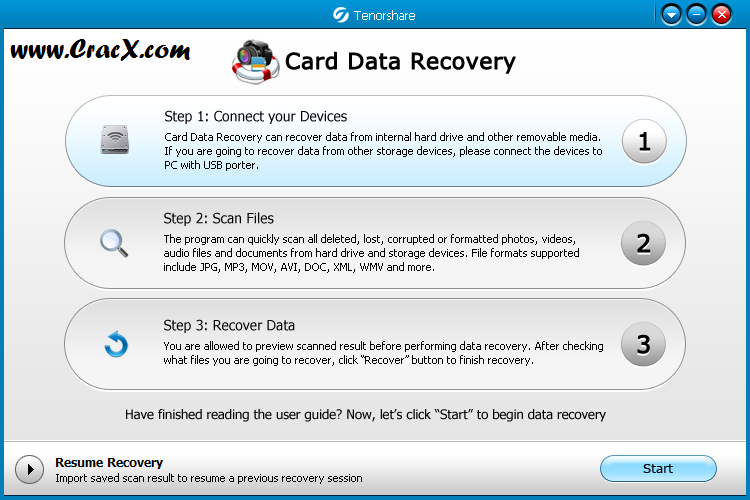 Tenorshare Card Data Recovery 4.6 Keygen & Patch Download
