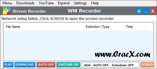 WM Recorder 16.8.1 Crack Patch & Keygen Download