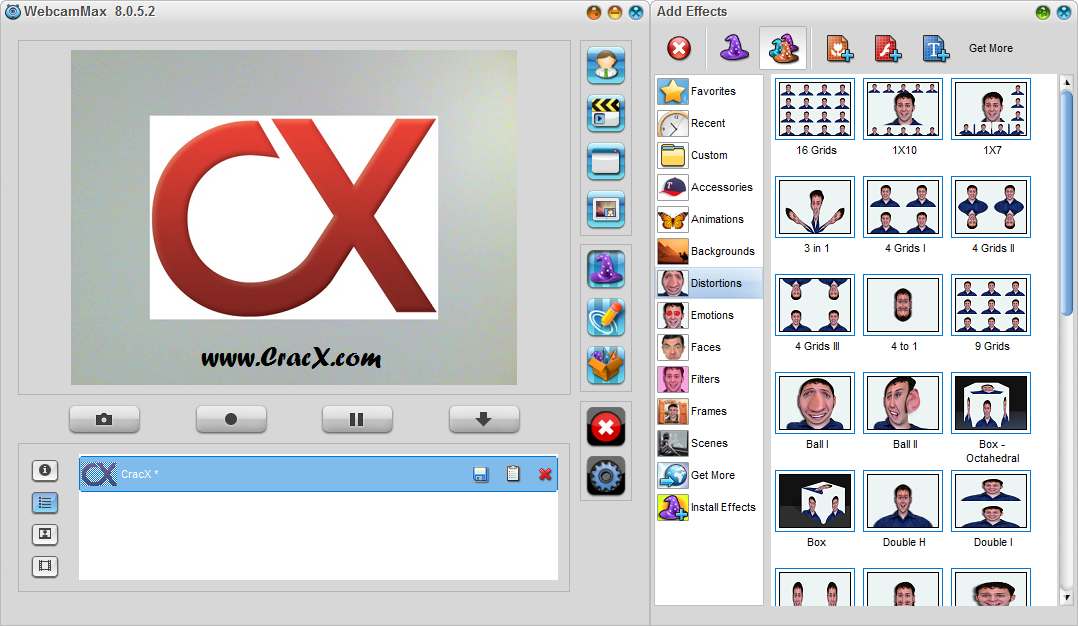 WebcamMax 8.0.5.2 Crack & Serial Number Free Download