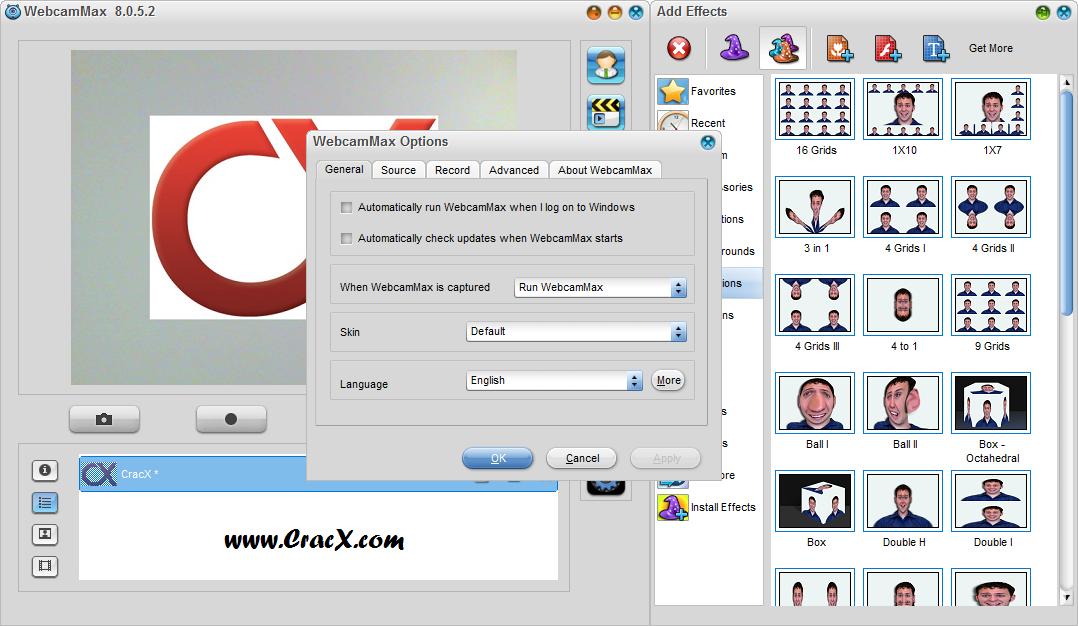 WebcamMax 8.0.5.2 License Key & Activator Download