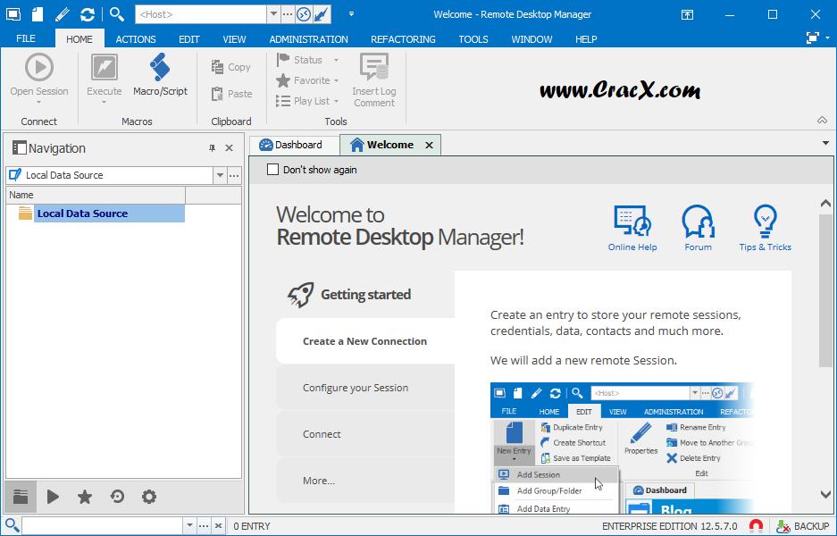 Remote Desktop Manager Enterprise 12.5.7.0 + Patch Download