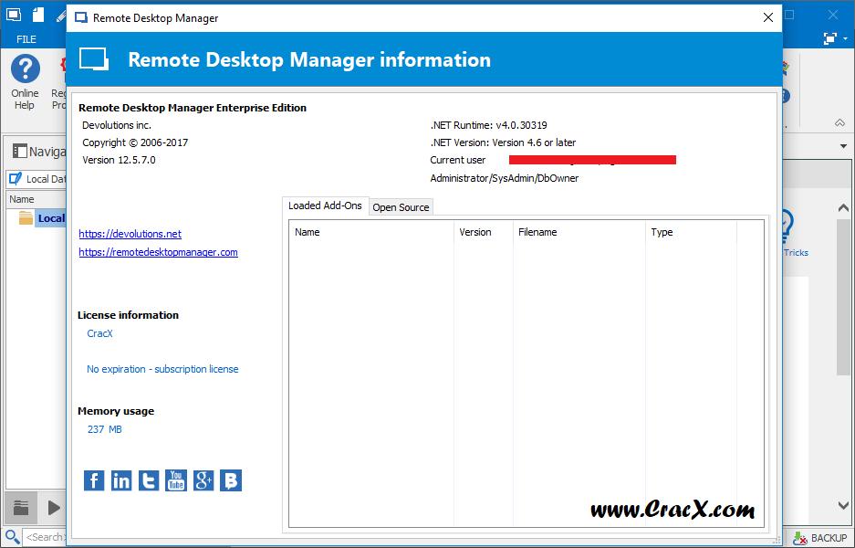 Remote Desktop Manager Enterprise 12.5.7.0 + Serial key Download