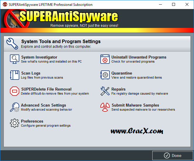 SUPERAntiSpyware Professional 6.0.1242 Keygen & Patch Download