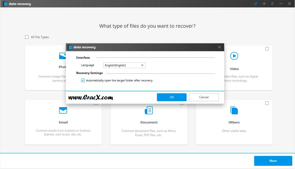 Wondershare Data Recovery 6.0.2.16 Patch & Keygen Download